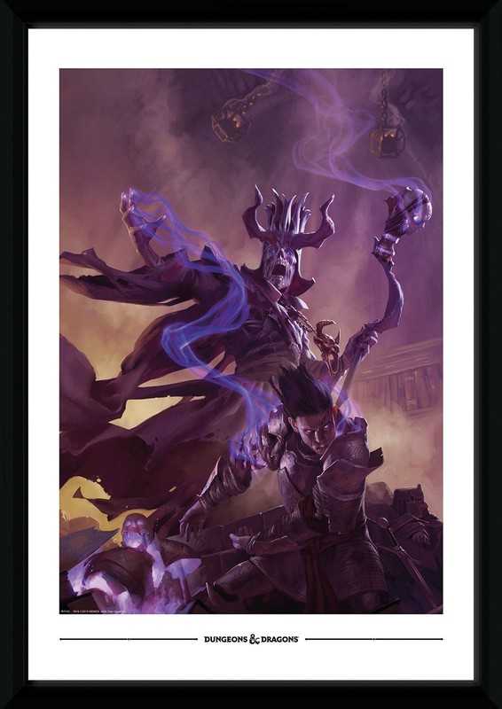 Dungeons and Dragons: The Archlich Acererak - Collector Print (50x70cm)