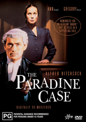 The Paradine Case on DVD