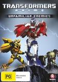 Transformers: Prime Volume 2 - Unfamiliar Enemies on DVD