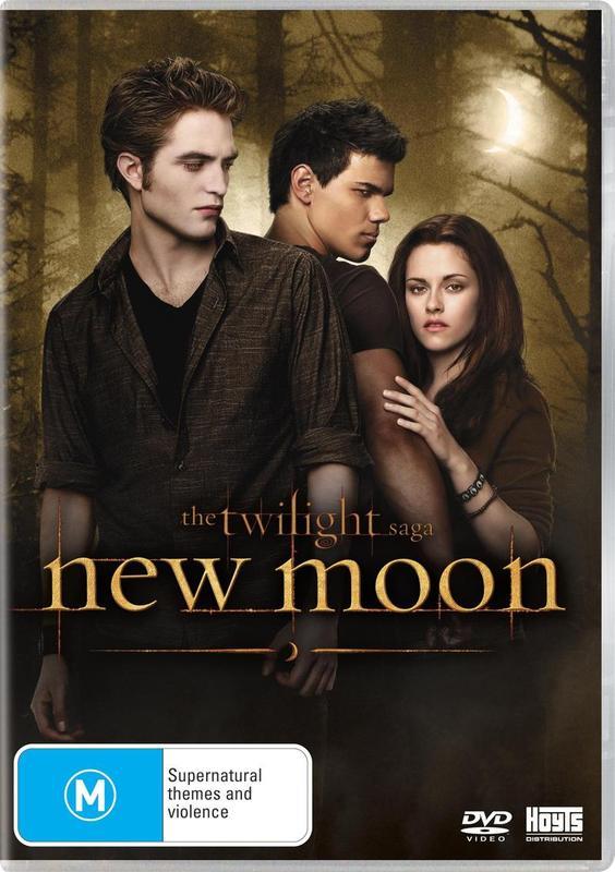 The Twilight Saga - New Moon (Single Disc) on DVD