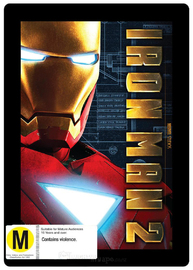 Iron Man 2 - Special Edition Steelbook (2 Disc Set) on DVD