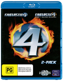 Fantastic Four / Fantastic Four: Rise of the Silver Surfer on Blu-ray