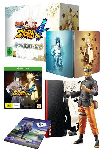 Naruto Shippuden: Ultimate Ninja Storm 4 Collector's Edition