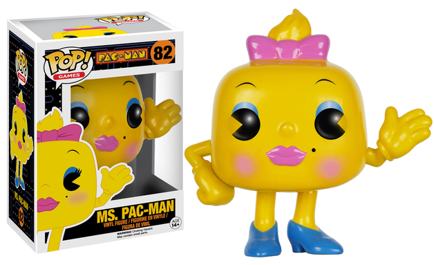 Pac-Man - Ms. Pac-Man Pop! Vinyl Figure