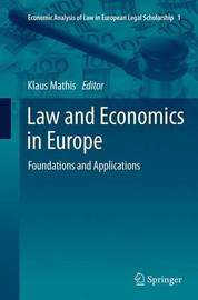 Law and Economics in Europe