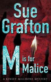 M is for Malice by Sue Grafton image