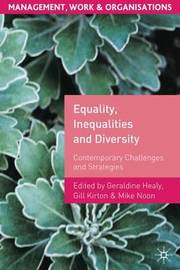 Equality, Inequalities and Diversity image
