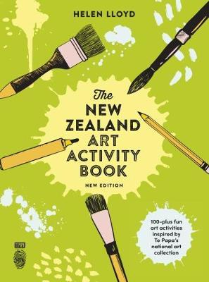 The New Zealand Art Activity Book by Helen Lloyd image