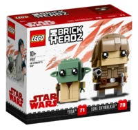 LEGO Brickheadz: Luke Skywalker & Yoda (41627)