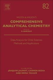 Data Analysis for Omic Sciences: Methods and Applications: Volume 82