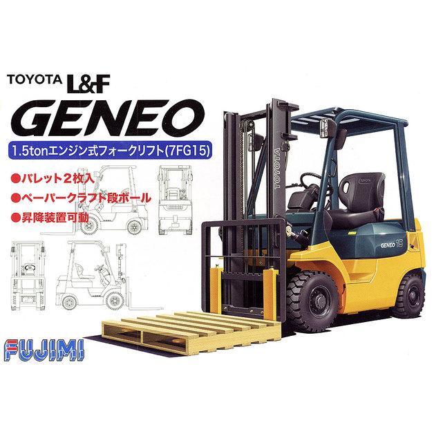Fujimi: 1/32 Toyota L&F Geneo Forklift - Model Kit