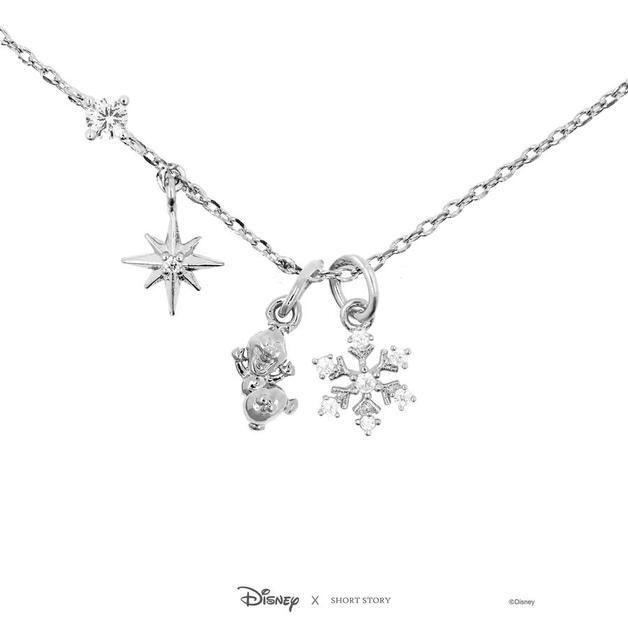Short Story: Disney Frozen Necklace - Silver