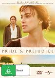 Pride & Prejudice on DVD