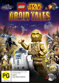 Lego Star Wars: Droid Tales on DVD