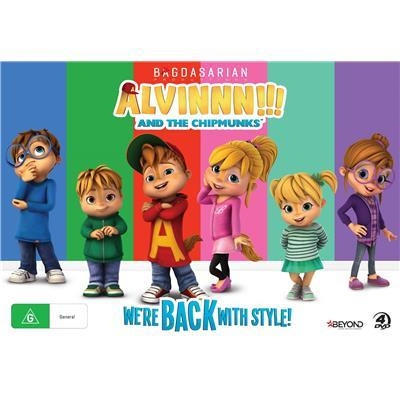 Alvin And The Chipmunks: We're Back With Style! Collector's Set on DVD
