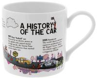 McLaggan Smith: Brainwaves Coffee Mug - History of the Car