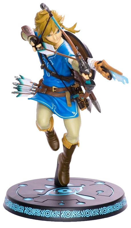 "Legend of Zelda: Breath of the Wild - 10"" Link PVC Statue"