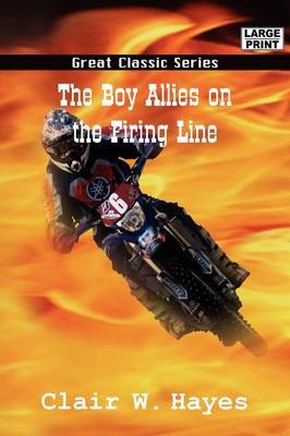 The Boy Allies on the Firing Line by Clair W. Hayes image