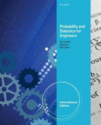 Probability and Statistics for Engineers, International Edition by Madhuri S Mulekar image