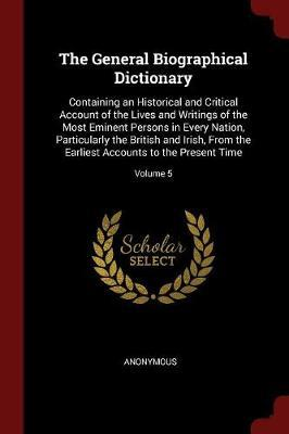 The General Biographical Dictionary by * Anonymous image