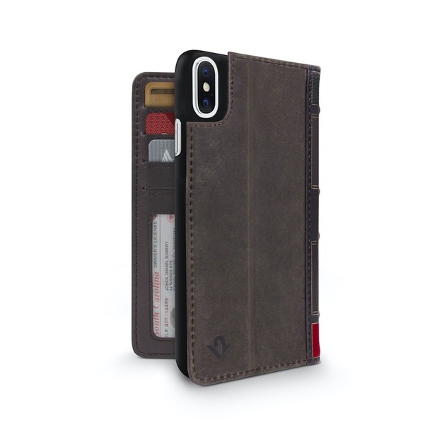 Twelve South BookBook for iPhone XS Max (Brown)
