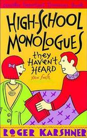High School Monologues They Haven't Heard image