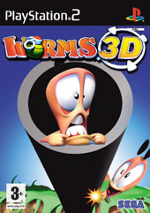 Worms 3D for PS2