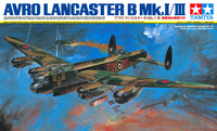 Tamiya British Lancaster B MkI-III 1/48 Aircraft Model Kit
