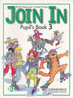 Join In Pupil's Book 3 by Gunter Gerngross