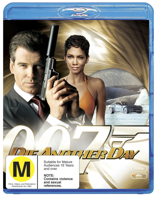 Bond: Die Another Day on Blu-ray