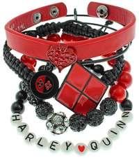 DC Comics: Harley Quinn Arm Party Bracelet Set