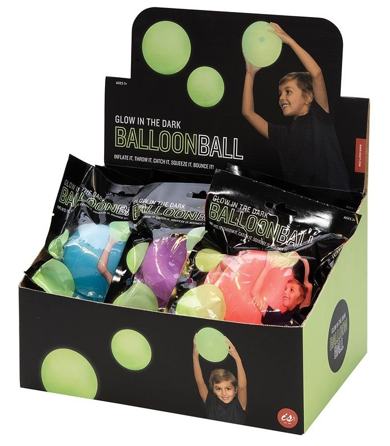 Balloon Balls - Glow In The Dark (Assorted Colours) image
