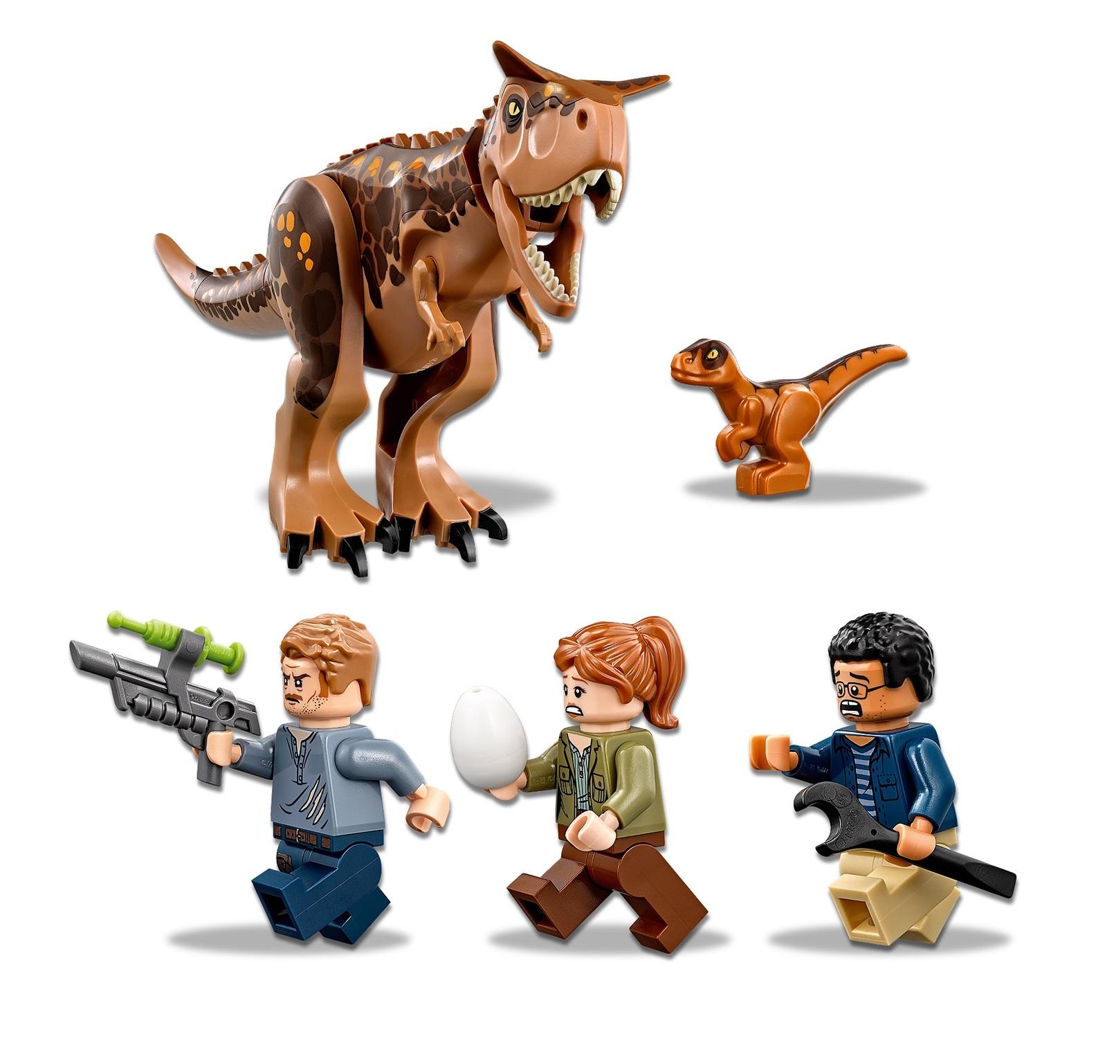 LEGO Jurassic World: Carnotaurus Gyrosphere Escape (75929) image