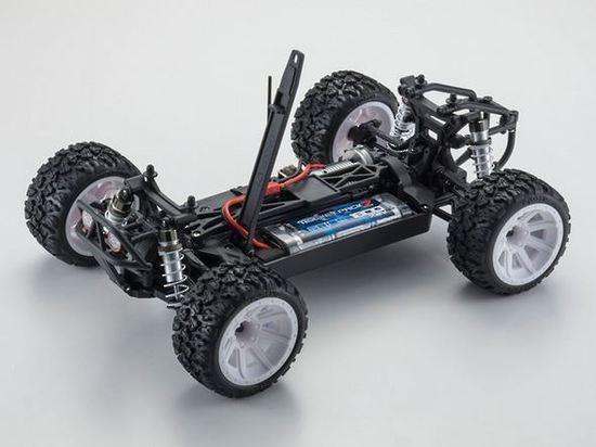 Kyosho Mad Bug Vei RS 1/10 EP 4WD RC Buggy RTR Set image