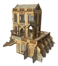 TTCombat: Tabletop Scenics - Gothic Ruined Servitialis image