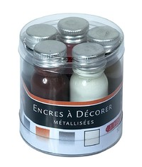 J Herbin: Inks Sampler - Metallic (5 Pack) image