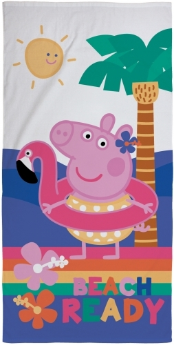 Peppa Pig Hooray Beach Towel image