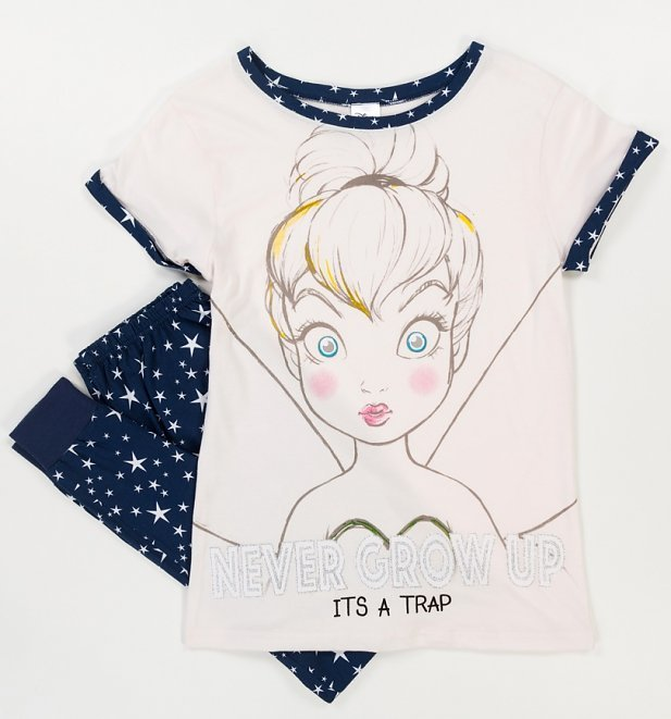 Disney: Tinkerbell (Never Grow Up) - Women's Pyjamas (8-10) image