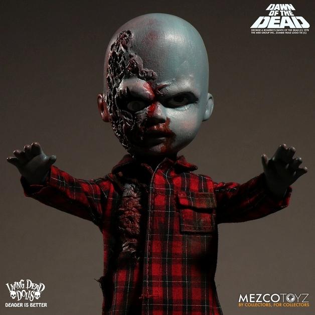 Living Dead Dolls: Dawn of the Dead - Plaid Shirt Zombie