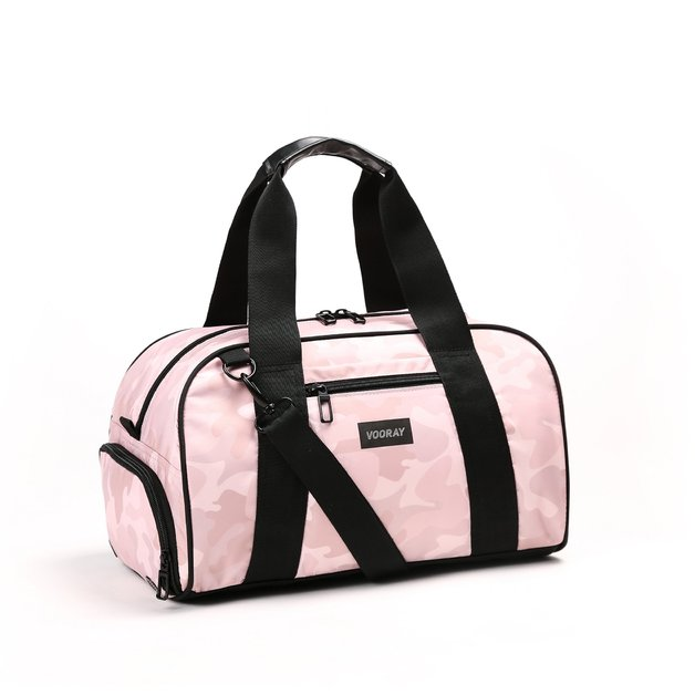Vooray: Burner Gym Duffel - Pink Camo