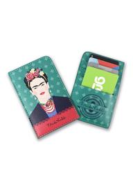 Frida Kahlo - Green Vogue Card Purse image
