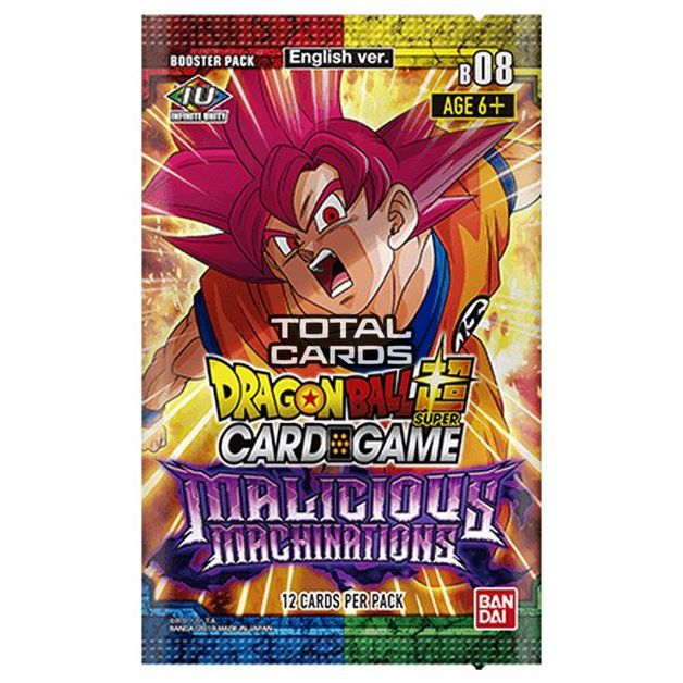 Dragon Ball Super TCG: Series 8 Malicious Machinations Single Booster
