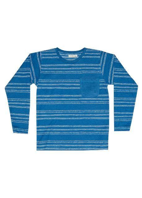 Zuttion Kids: L/S Round Neck Tee Rope Stripe - 9-10