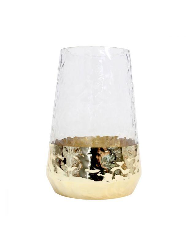 Splosh: Tranquil Dipped Gold Vase - Small