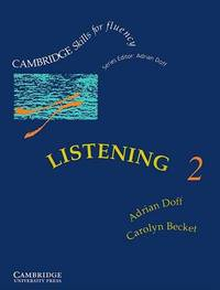 Listening 2 Student's Book: Intermediate: Level 2: Intermediate by Adrian Doff image