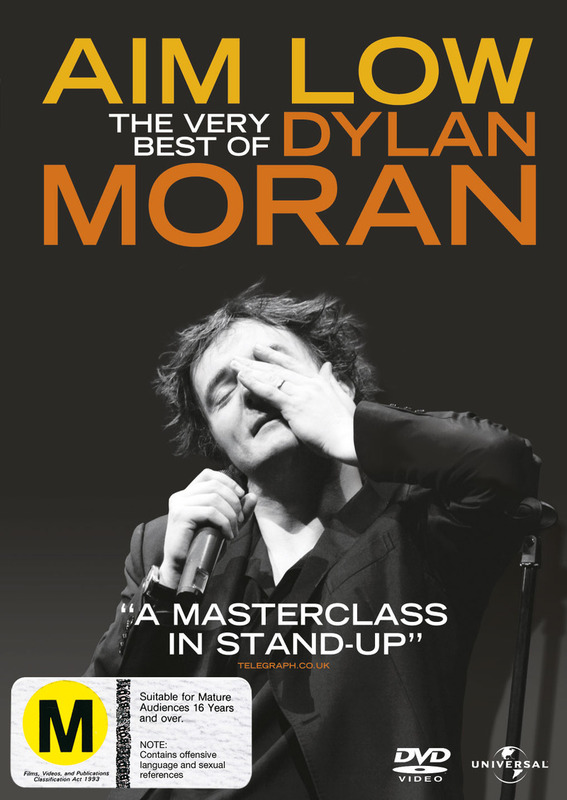 Aim Low: The Best of Dylan Moran on DVD