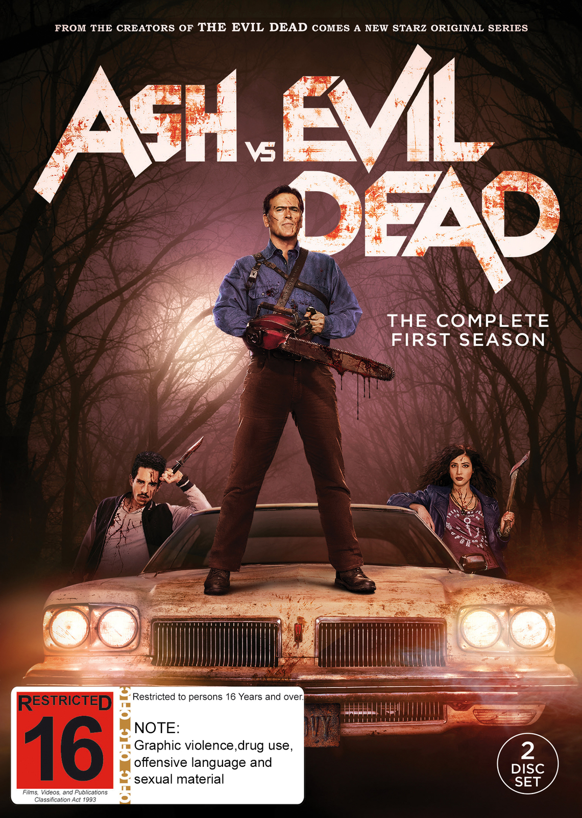 Ash Vs Evil Dead - The Complete First Season on DVD image