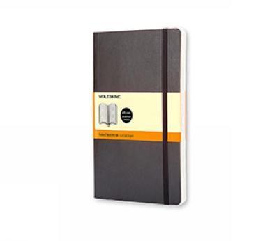 Moleskine Ruled Notebook (Large, Soft, Black)