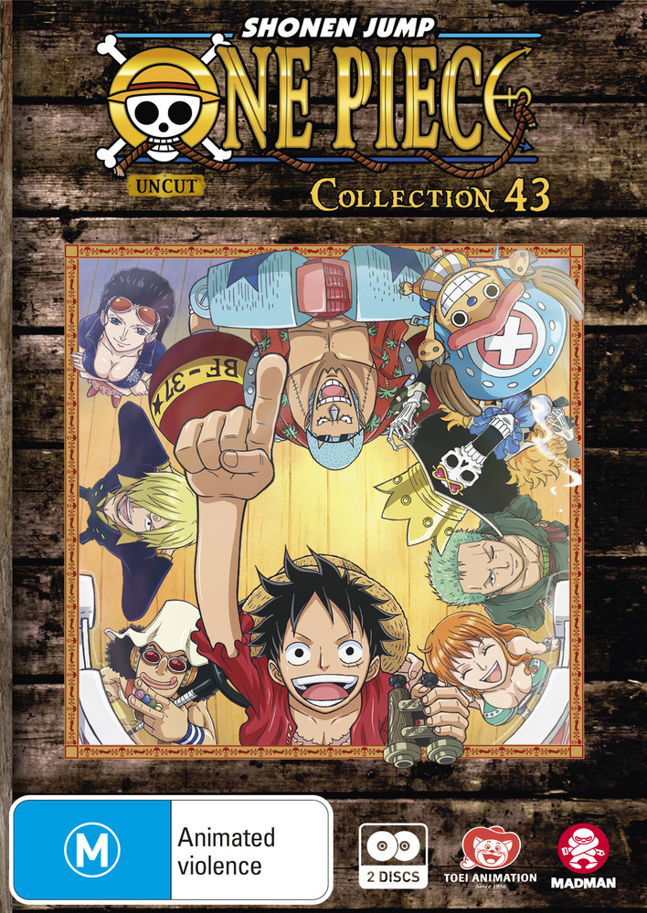 One Piece (uncut) - Collection 43 (Eps 517-528) on DVD image