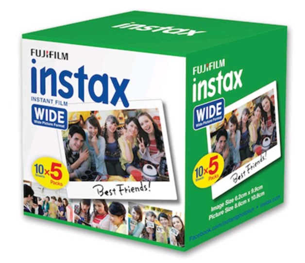 Fujifilm: Instax Wide Film - 50 Pack